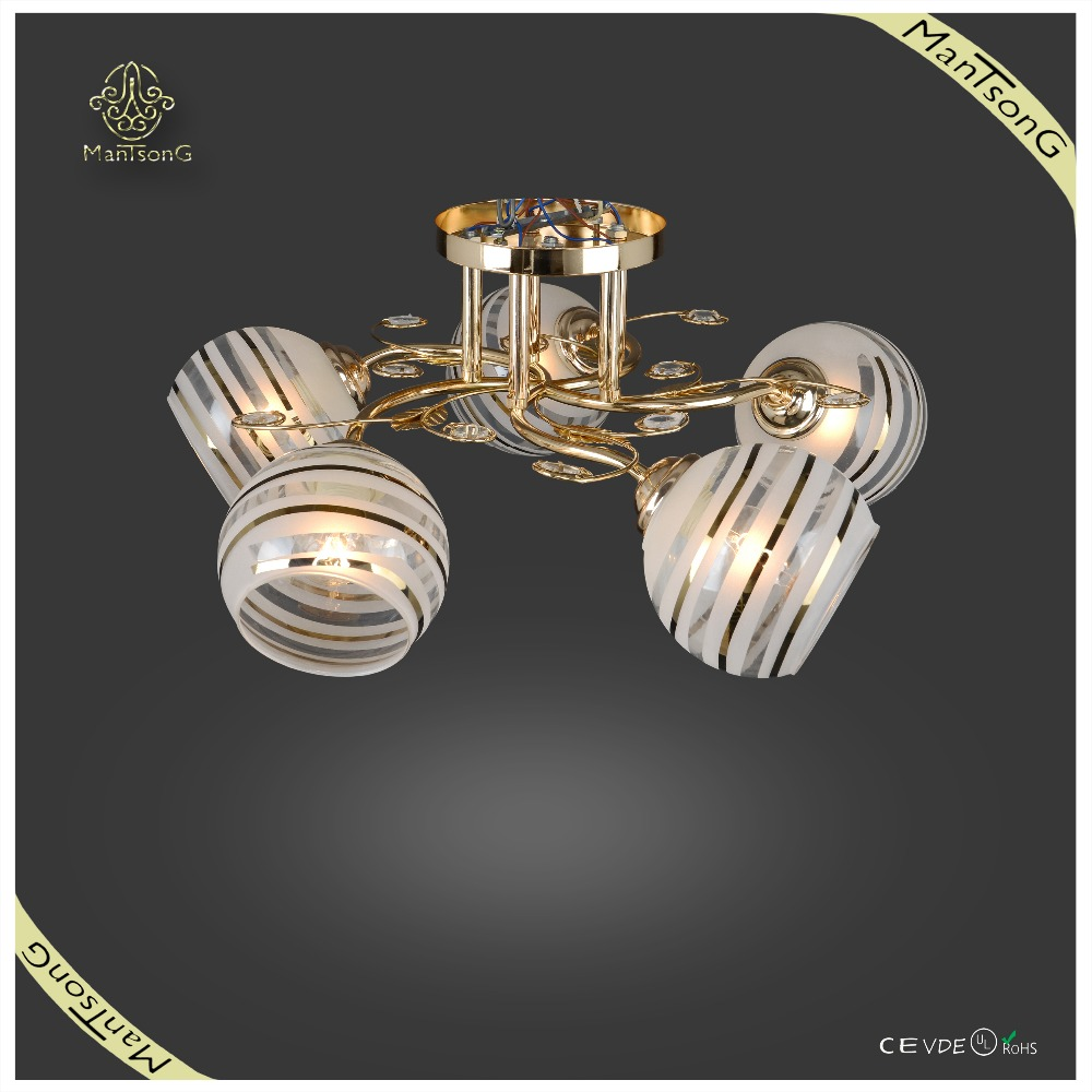 2015 <strong>decor</strong>ative home decor simple glass flower lamp ceiling