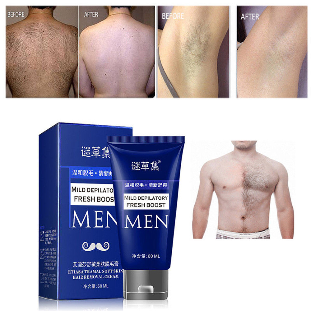 2018 New Man S Permanent Body Hair Removal Cream Hand Leg Hair Loss Depilatory Cream Men Body Cream Aliexpress