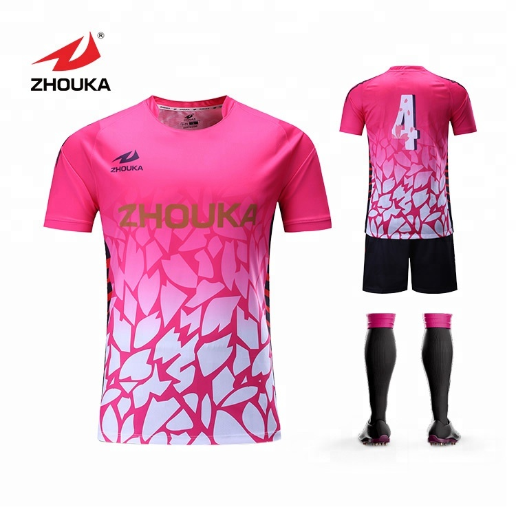 China New Football Jersey Wholesale Soccer Jersey For Team And ...
