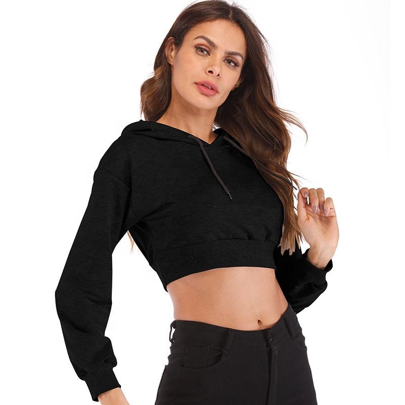OEM дизайн, новый сексуальный женский пуловер, свитшоты с принтом логотипа на заказ, худи без рисунка