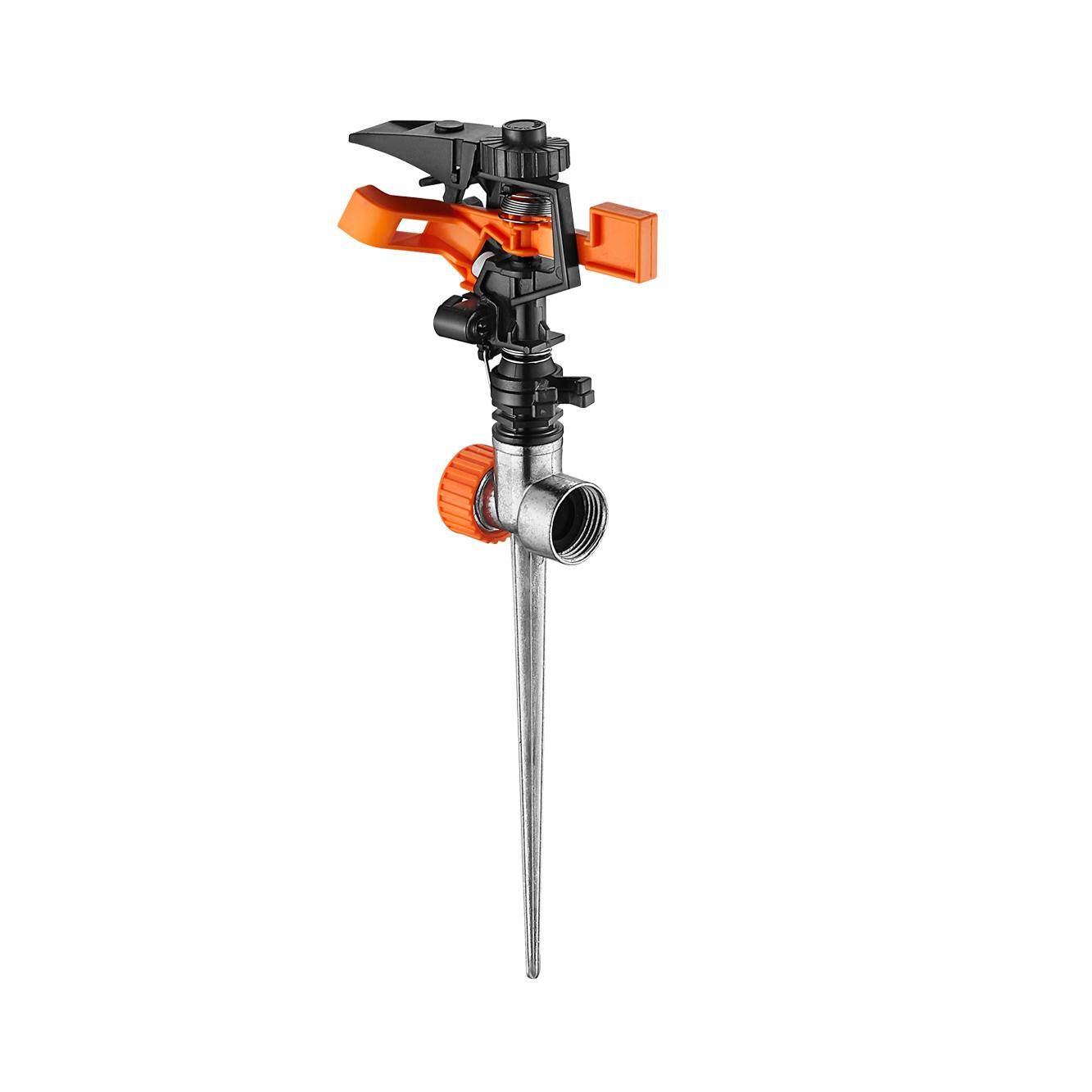 Plastic/Metal Adjustable Irrigation Rotating Water Impulse Sprinkler