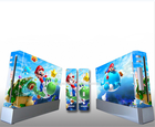 Skin Vinyl Sticker Cover For Nintendo for Wii Console and 2 Remotes Decal Sticker Skin