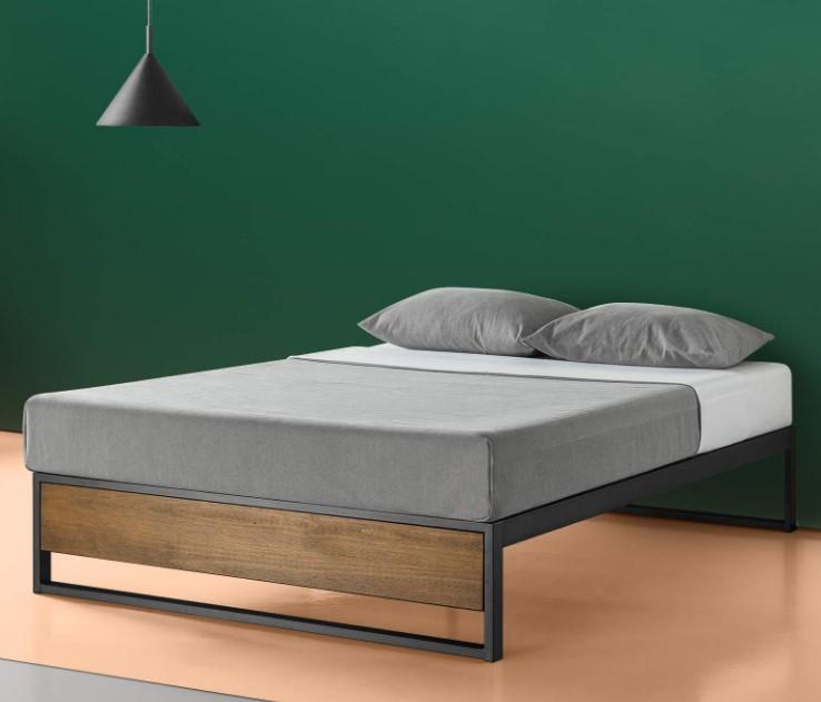 Ironline Platform Bed Without Headboard Bedroom Furniture Buy European Style Platform Beds Lighted Platform Bed Indonesian Platform Bed Product On Alibaba Com