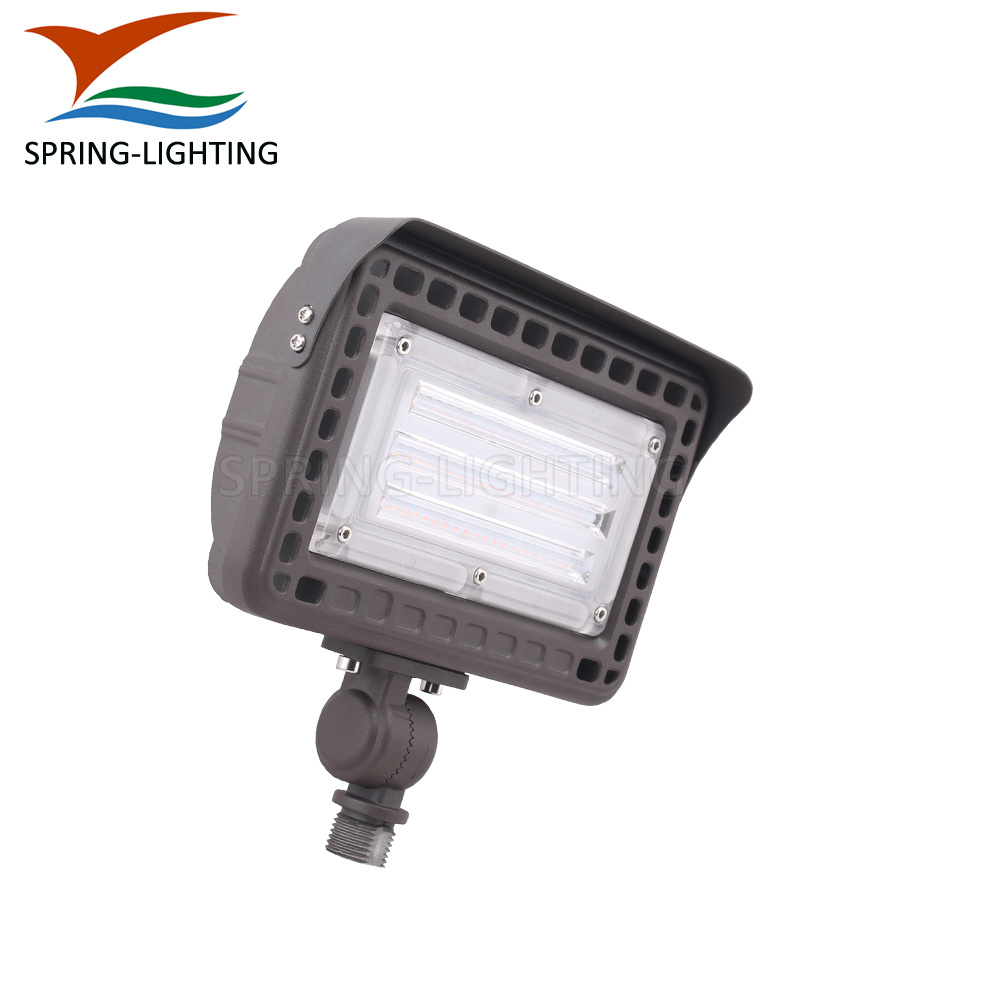 Fast delivery 100w UL LED flood light knuckle bracket garden flood lighting lamp DC 12V DC24V dimmable