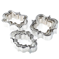 4 Piece Set Frame Stainless Steel Cookie Cutters Molds Sugar Craft Cake Styling Tools DIY Oven