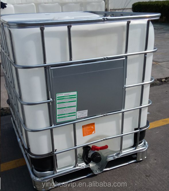 Galvanized-steel cage cider fermenting container 1000Liter IBC tank