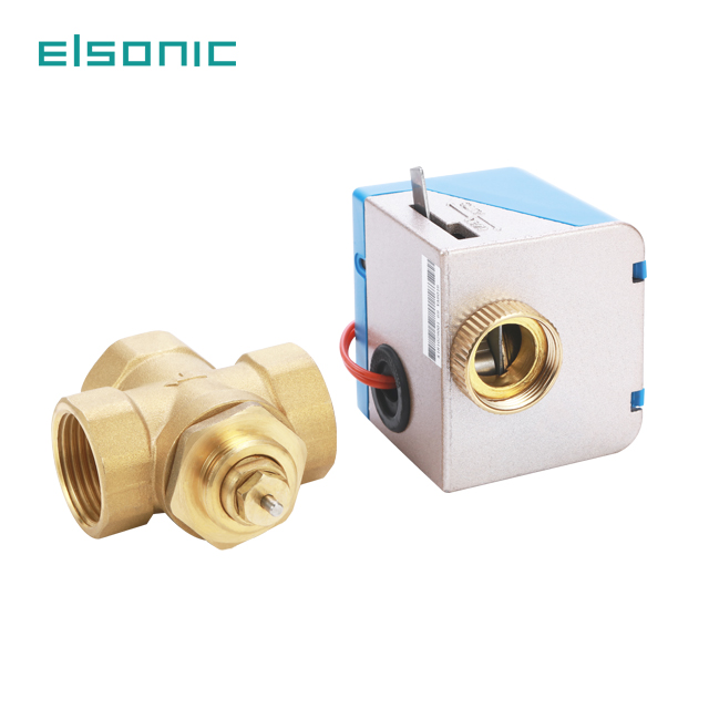 for hvac with fan coil units hotel rooms by electric for auto control proportional gate motorized zone valve