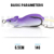 Rattle Pesca Pike Fishing Lure Artificial Bait 14g 65mm Floating RatLure Soft Baits Fishing Wobblers Frog Lure