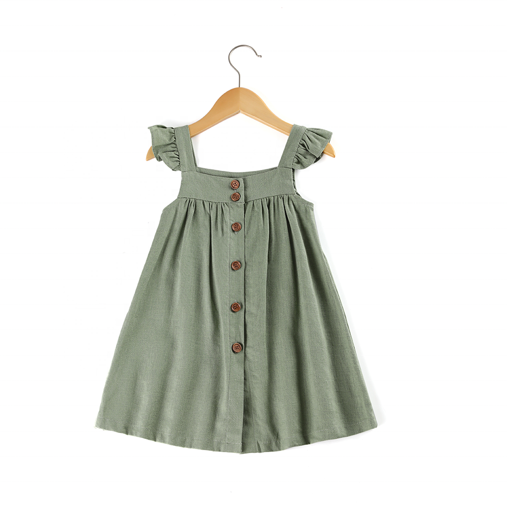 Italian Chef Cooking Vintage Baby Girls Dress
