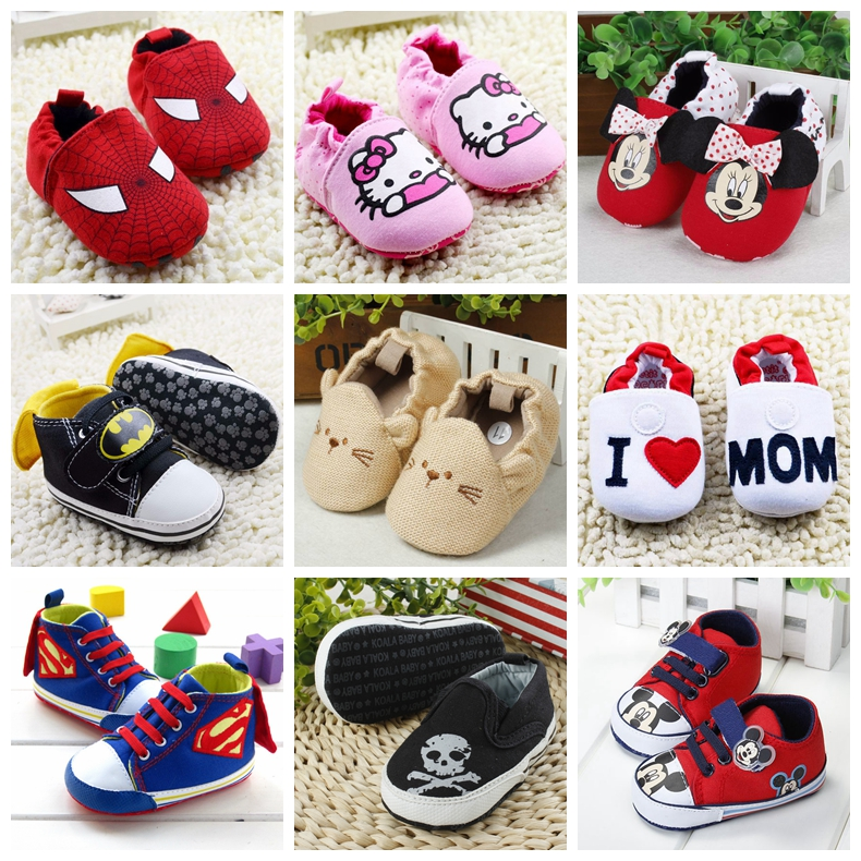 2015 New Fashion Baby Shoes newborn boys/girls Soft Sole bebe sapatos Cute Kids Girl Toddler Shoes First Walkers R8311