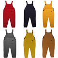 ins hot autumn winter baby rompers solid tollder Boy s Girl s Jumpsuit roupas de bebe