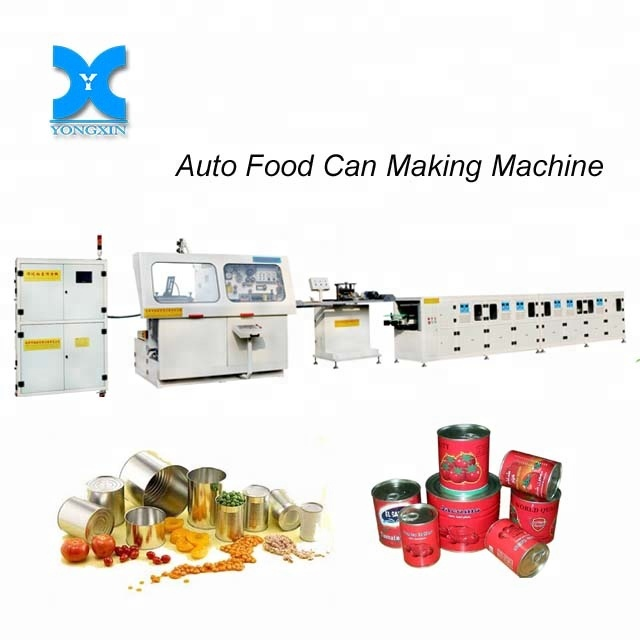Automatic tin can flanger and beader combination machine for Food can making metal packaging