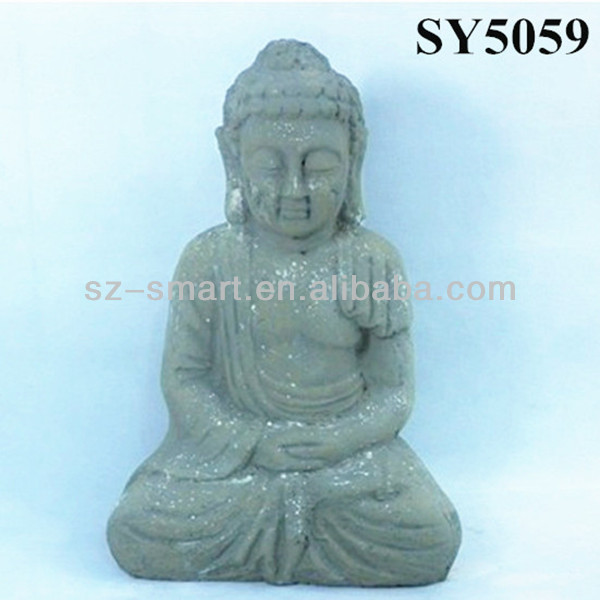 Carving Cement Clay Buddha Garden Statues View Cement Clay Buddha Garden Statues Sy Product Details From Shenzhen Smart Imp Exp Co Ltd On Alibaba Com