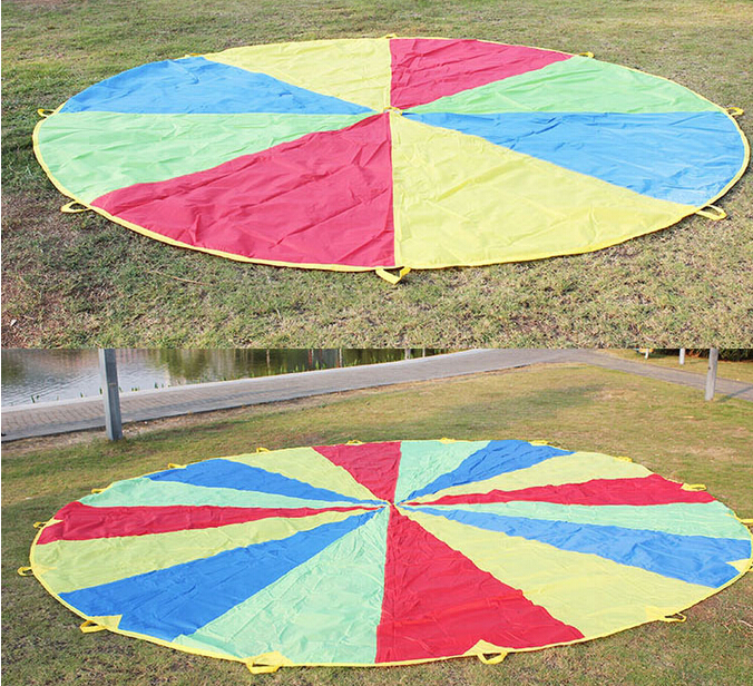 Customised Parachute Man Toy Equip Kid Playing Sport parachute for child on sale