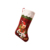 Slipper Plastic Bag Purple Santa Funny Pet Christmas Stocking