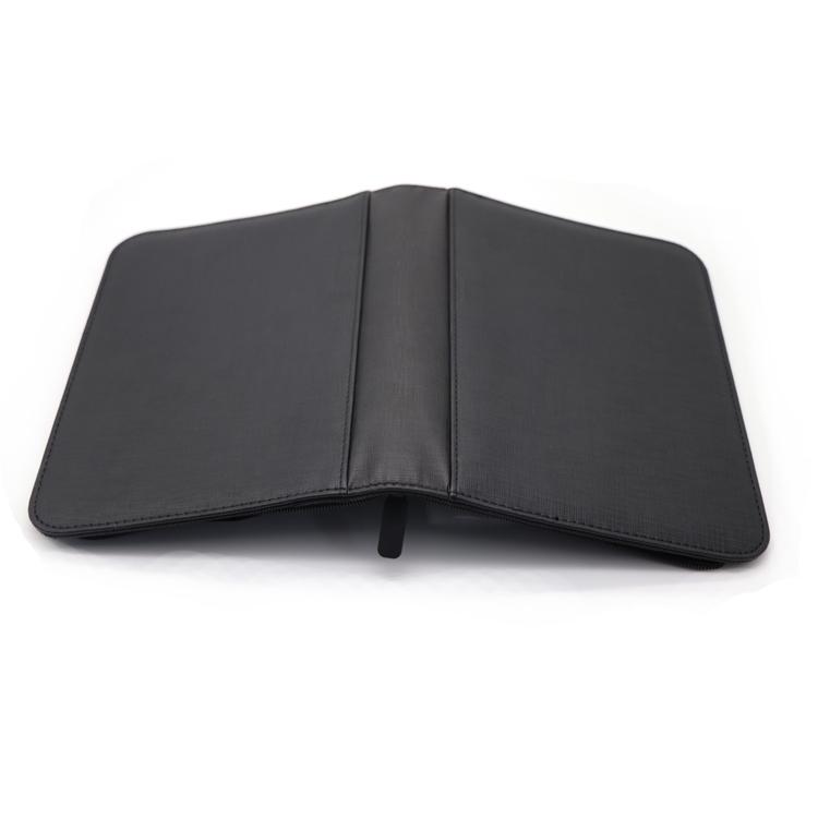 BLACK PP matte cards binder 4 pockets magic sleeve yugioh trading card binder