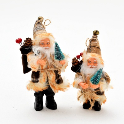 Christmas Santa Doll Toy Christmas Tree Ornaments Decoration Exquisite For