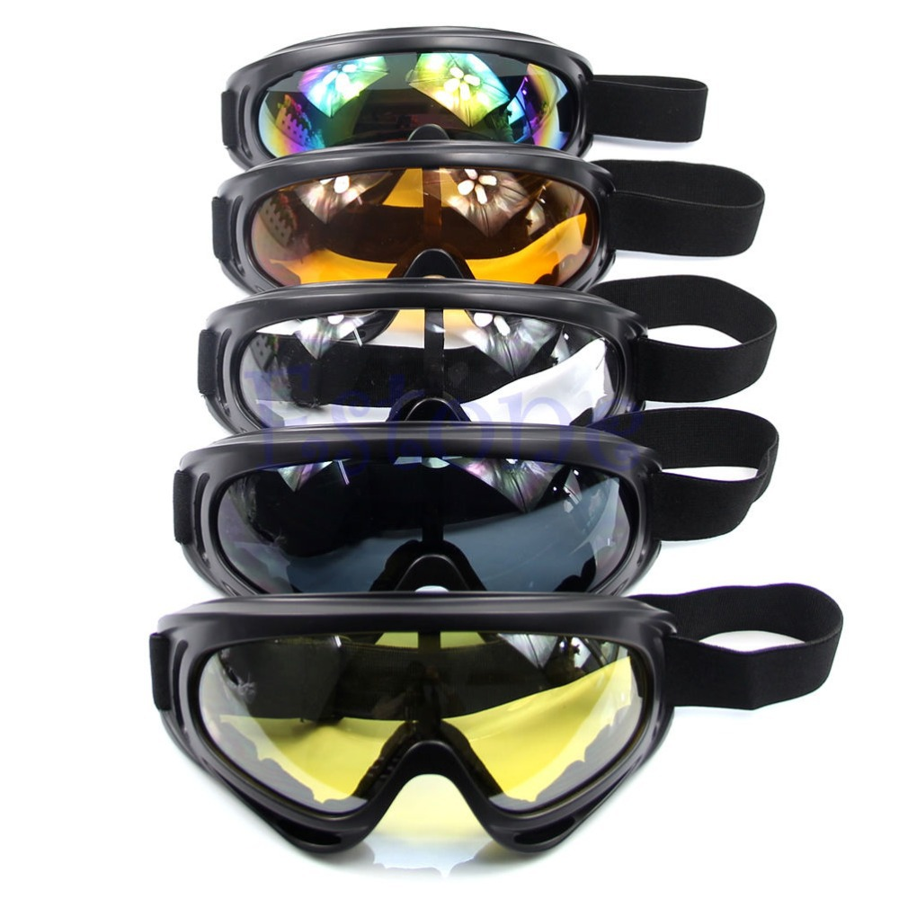 HOT Motorcycle Dustproof Ski Snowboard Sunglasses Goggles Lens Frame Eye Glasses