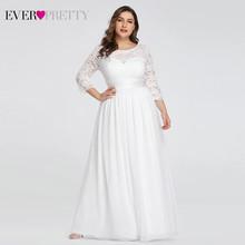 Длинные вечерние кружевные платья Ever Pretty, зима 2020, с длинным рукавом, формальное платье, женское элегантное 7412(Китай)