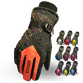 Winter New Outdoor Adjustable Windproof Thermal Snowboard Ski Gloves Women Men s Antiskid Motorcycle Gloves