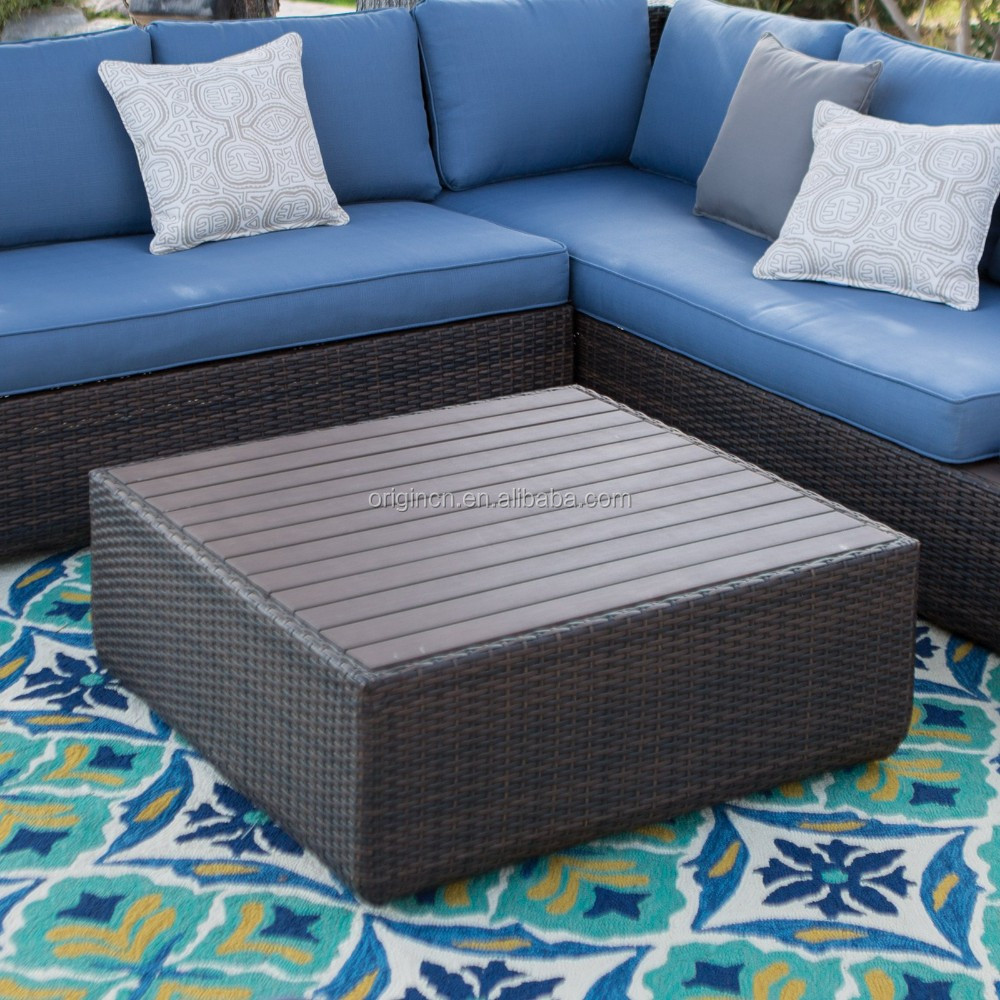 Pacific Navy Blue Aluminum Topped Leisure Garden Outback
