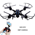 2MP camera RC Quadcopter 6 Axis Gyro Drone with camera HD Wifi Real time Transmission FPV