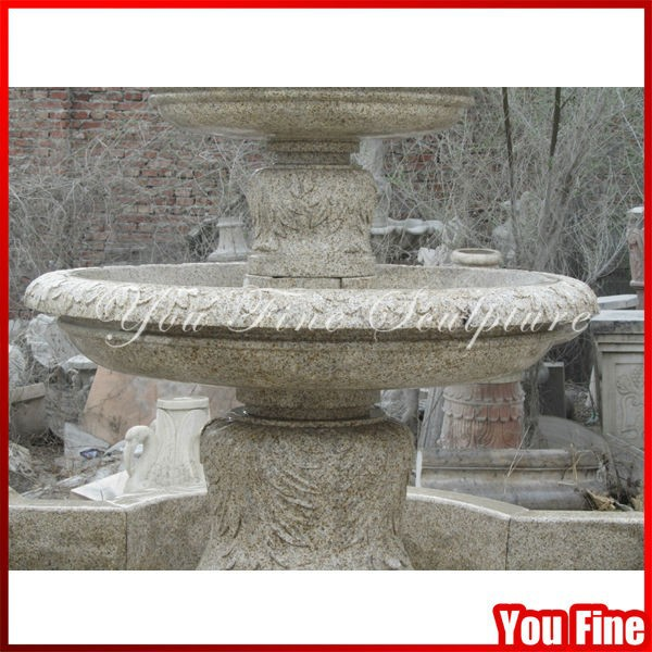 Handcarved Garden Cheap Large Sculptural Stone Fountain