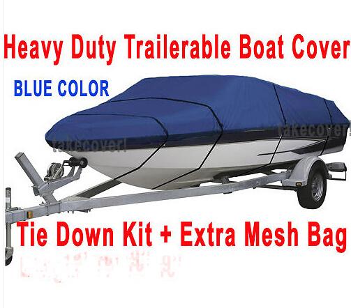 heavy duty Boat Covers 600D Waterproof 14 to 16 ft