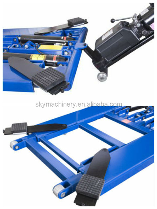 Portable Machine Easy Car Lift Hydraulic Jack System