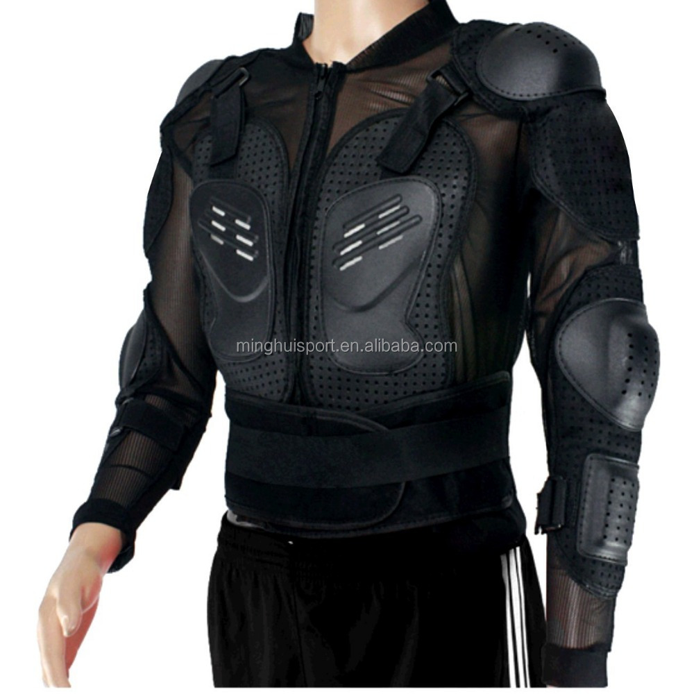 Motorcycle bikers riding clothing motocross breathable mesh jacket armor