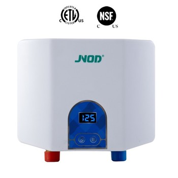 JNOD mini kitchen instant tankless electric water heater wall mounted instant electric water heater under sink water heater