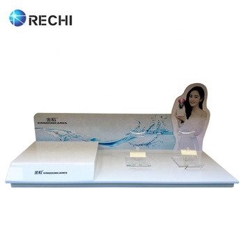 RECHI Custom Design & Made Table-top Acrylic Health Care Water Replenishing Instrument Display Stand Retail POS Display Stand