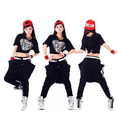 online kaufen gro handel hip hop dance kleidung aus china. Black Bedroom Furniture Sets. Home Design Ideas