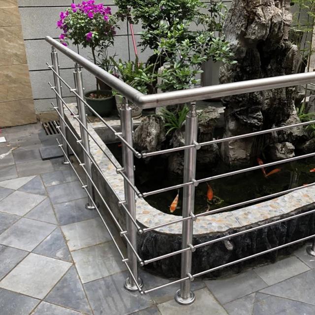 Веревочные перила для террасы, декоративные лестницы, современные лестничные перила, перила из нержавеющей стали, конструкция для балконного гриля из стали