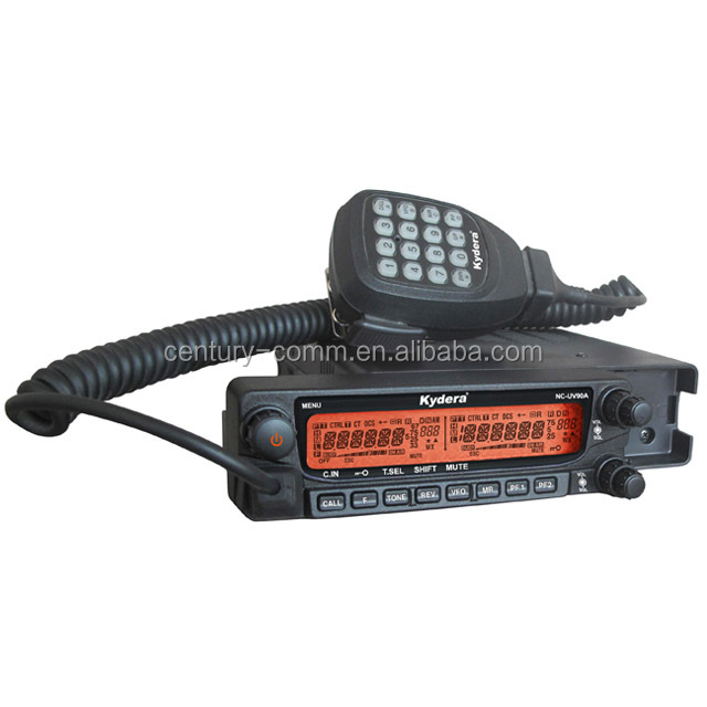 VHF UHF two bands ham radio dual band mobile radio station NC-UV90A car mounted radio