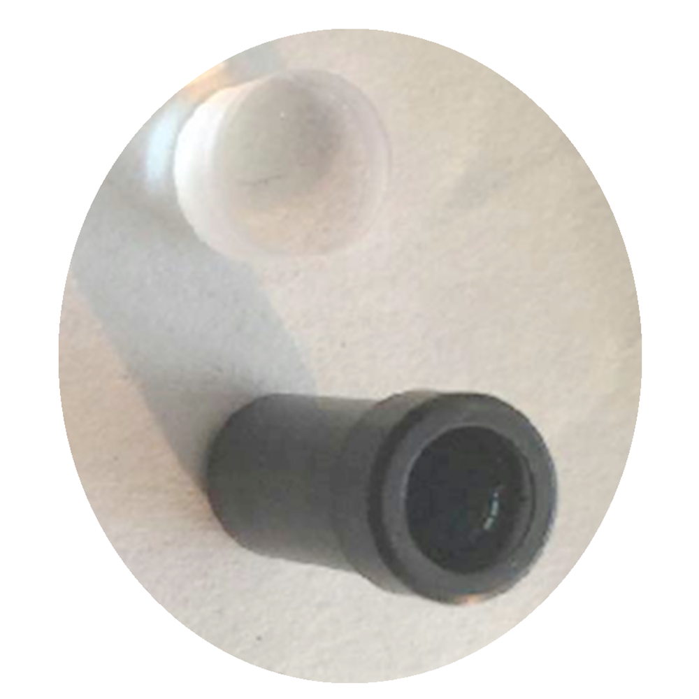 Endoscope Repair and Maintenance Eyepiece Lens with Black Sleeve