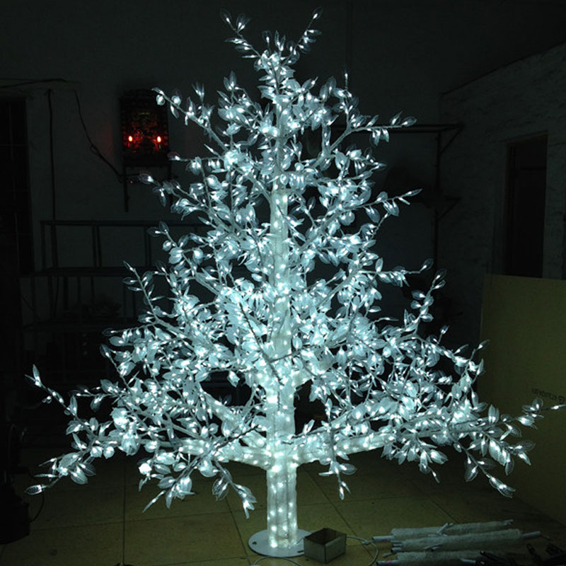 1.5Meter 864LED outdoor lighted artificial christmas trees ...
