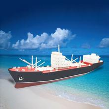 Million Ton Oil Tanker Rainbow Electric Assembly Model Kits Simulation Ship Model DIY Popular Science Toys