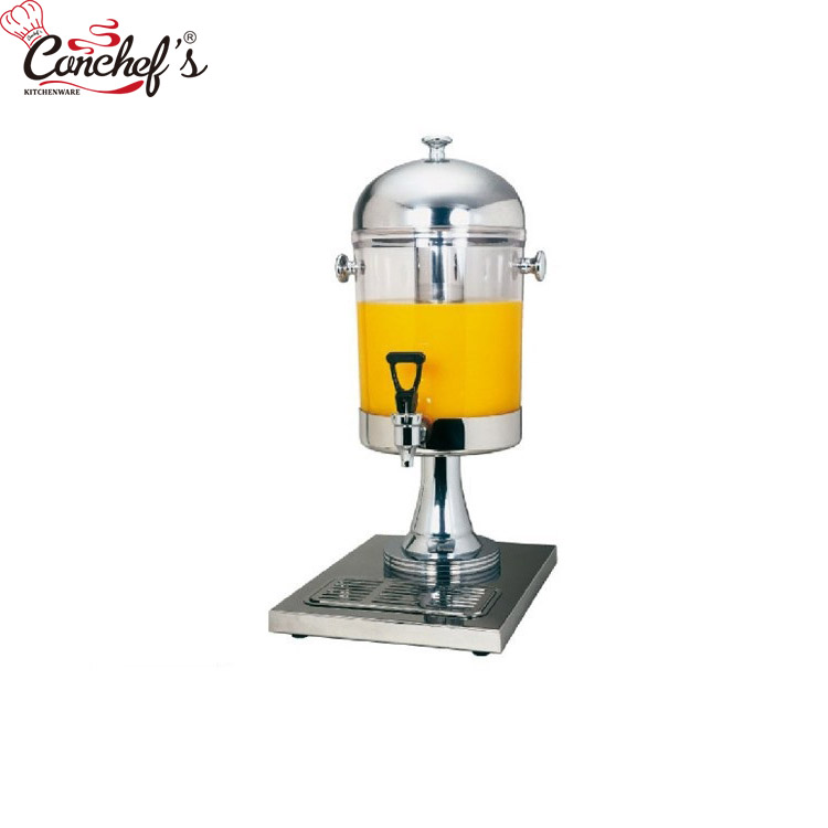 Stainless Steel Single Head Juice Dispenser With Icicle Buffer Juice Dispenser Beverage Dispensers View Juice Dispenser With Icicle Bestchef Product Details From Guangzhou Bestchef Kitchenware Trading Co Ltd On Alibaba Com
