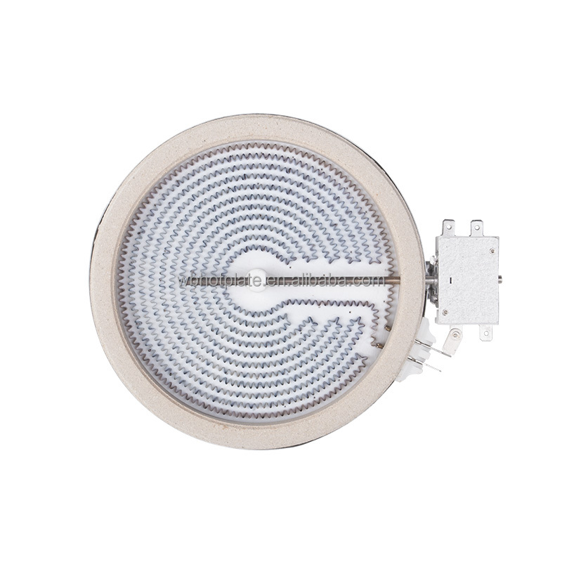 HL-T165R 165mm 1200W 220V Ceramic Heating element