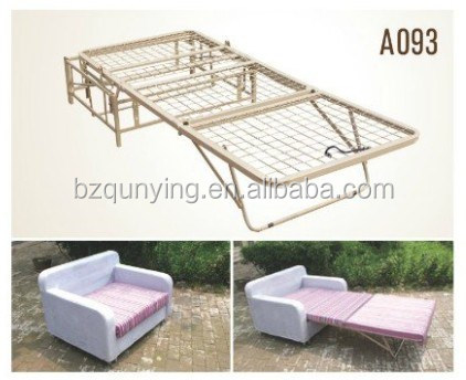 Metal Pull Out Sofa Bed Mechanism Frames With Wooden Slat Or Metal Net A093 Buy Furniture Frames Metal Furniture Frames Unfinished Frames Product On Alibaba Com