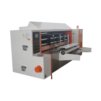 ZH NC Circle Roll mat Roller Rotary Die Cutter Boxmaker for Corrugated Cardboard