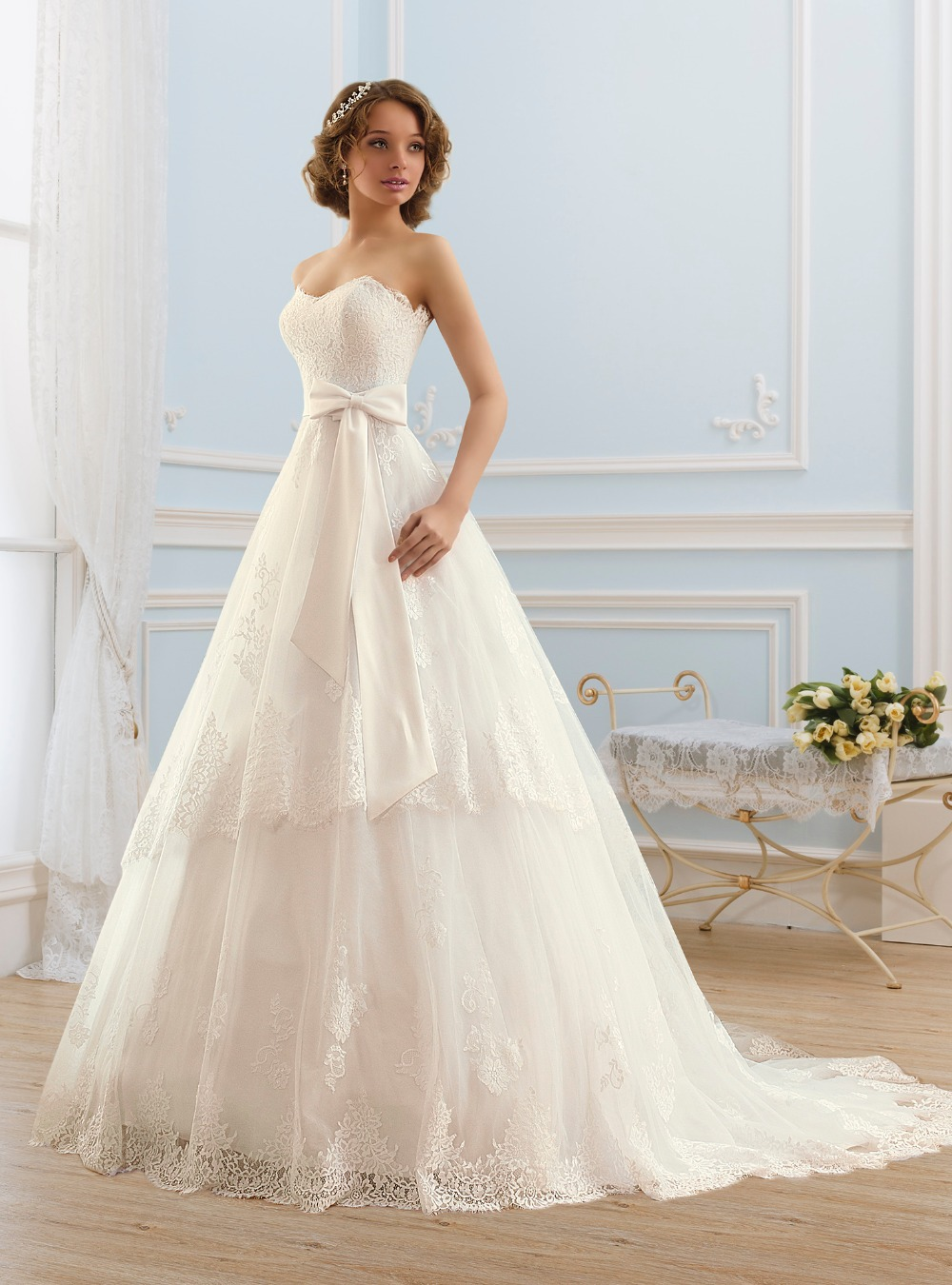 vestido de noiva 2015 Sexy Wedding Dresses Backless ...