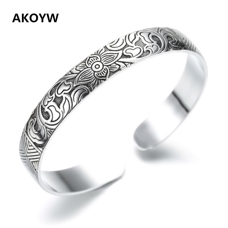 Купи из китая Украшения с alideals в магазине AKOYW S925 Silver stores