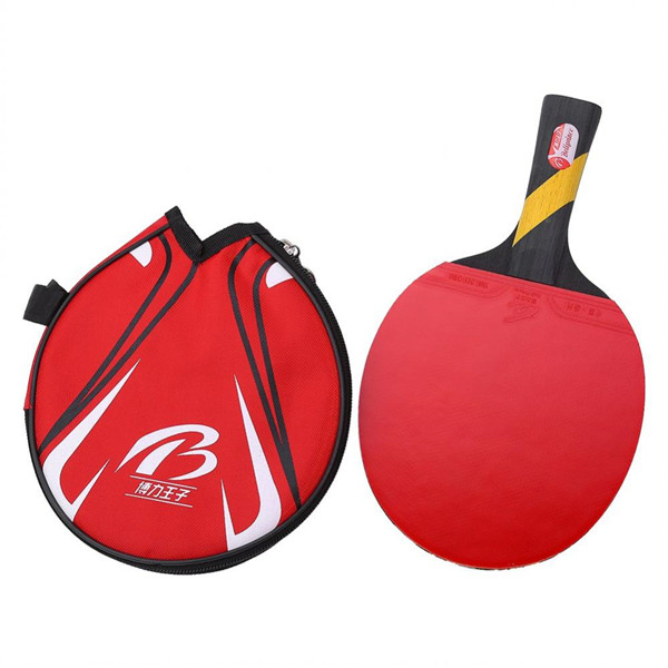Ping Pong Paddle Bat Table Tennis Racket For Shake-hand Grip Players Table Tennis Racket