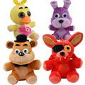 4pcs FNAF Five 5 Nights at Freddy s FREDDY FOXY Bonnie Chica Plush Toy doll