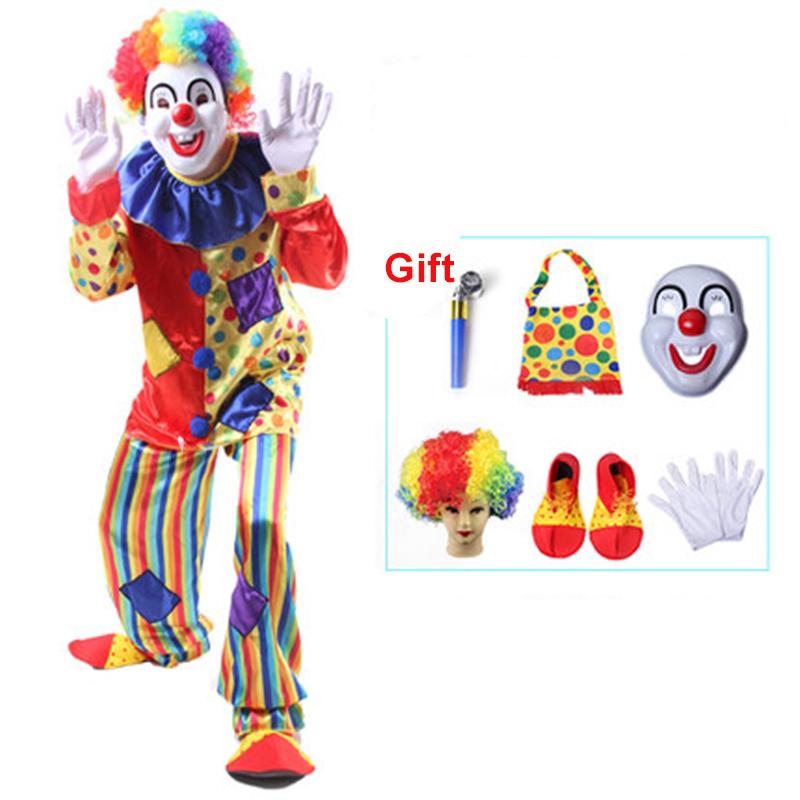 online kaufen gro handel clown costumes adult aus china clown costumes adult gro h ndler. Black Bedroom Furniture Sets. Home Design Ideas