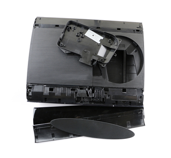 For PS3 Super Slim Shell Housing Case Shell Replacement For PS3 Super Slim 4000 4xxx Console black color