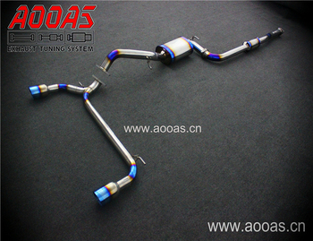AOOAS Performance Titanium Exhaust Catback System Wholesale For Ford New Focus