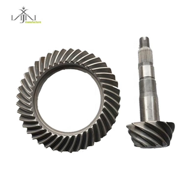 high hardness pinion and crown wheel for hilux vigo with 9*41 ratio